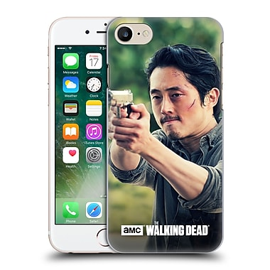 Official Amc The Walking Dead Glenn Rhee Pointing Gun Hard Back Case For Apple Iphone 7