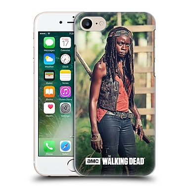 Official Amc The Walking Dead Michonne Stare Hard Back Case For Apple Iphone 7