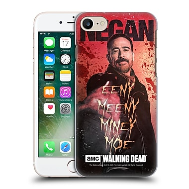 Official Amc The Walking Dead Negan Eeny Miney Coloured Hard Back Case For Apple Iphone 7