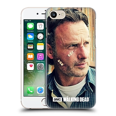 Official Amc The Walking Dead Rick Grimes Cuts And Bandages Hard Back Case For Apple Iphone 7
