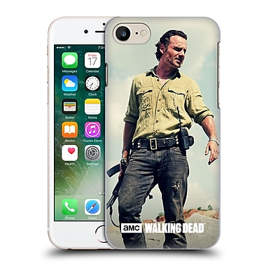 Official Amc The Walking Dead Rick Grimes Stance Hard Back Case For Apple Iphone 7