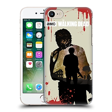 Official Amc The Walking Dead Silhouettes Glenn Hard Back Case For Apple Iphone 7