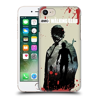 Official Amc The Walking Dead Silhouettes Rick Hard Back Case For Apple Iphone 7