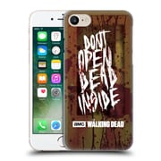 Official Amc The Walking Dead Typography Do Not Open Hard Back Case For Apple Iphone 7