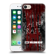 Official Amc The Walking Dead Typography Walker Bait Hard Back Case For Apple Iphone 7