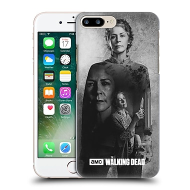 Official Amc The Walking Dead Exposure Carol Hard Back Case For Apple Iphone 7 Plus