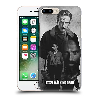 Official Amc The Walking Dead Exposure Rick Hard Back Case For Apple Iphone 7 Plus