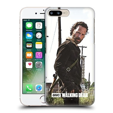 Official Amc The Walking Dead Filtered Characters Rick Gun Hard Back Case For Apple Iphone 7 Plus
