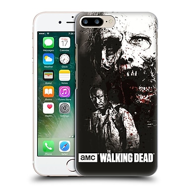 Official Amc The Walking Dead Gore Morgan And Lurker Hard Back Case For Apple Iphone 7 Plus