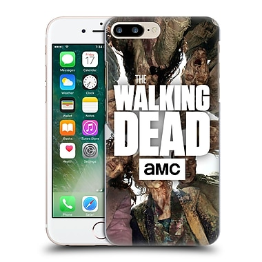 Official Amc The Walking Dead Logo Group Hard Back Case For Apple Iphone 7 Plus