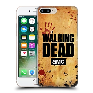 Official Amc The Walking Dead Logo Stacked Hard Back Case For Apple Iphone 7 Plus