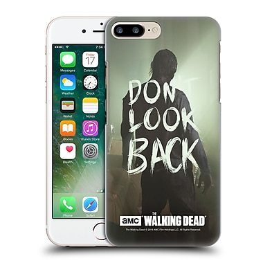 Official Amc The Walking Dead Quotes Dont Look Back Hard Back Case For Apple Iphone 7 Plus