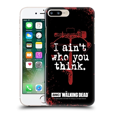 Official Amc The Walking Dead Quotes Daryl Think Hard Back Case For Apple Iphone 7 Plus