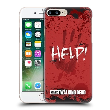 Official Amc The Walking Dead Quotes Help Hard Back Case For Apple Iphone 7 Plus