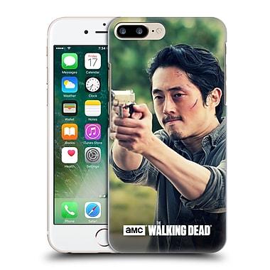 Official Amc The Walking Dead Glenn Rhee Pointing Gun Hard Back Case For Apple Iphone 7 Plus