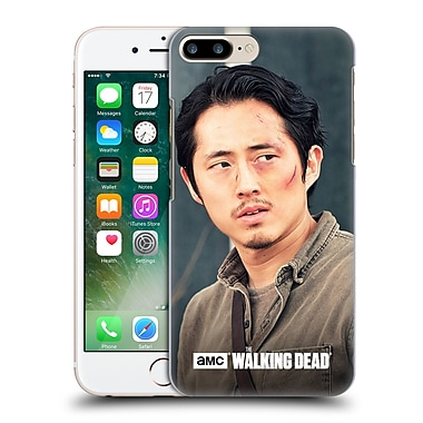 Official Amc The Walking Dead Glenn Rhee Looking Sideways Hard Back Case For Apple Iphone 7 Plus