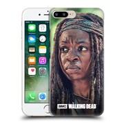 Official Amc The Walking Dead Michonne Face Hard Back Case For Apple Iphone 7 Plus