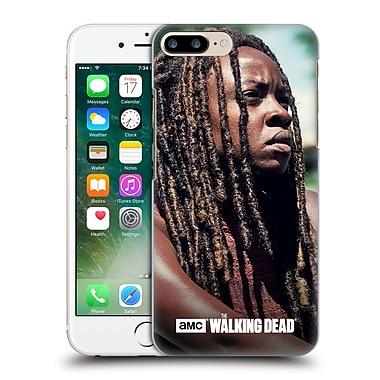 Official Amc The Walking Dead Michonne Profile Hard Back Case For Apple Iphone 7 Plus