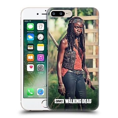 Official Amc The Walking Dead Michonne Stare Hard Back Case For Apple Iphone 7 Plus