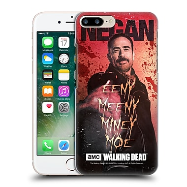 Official Amc The Walking Dead Negan Eeny Miney Coloured Hard Back Case For Apple Iphone 7 Plus