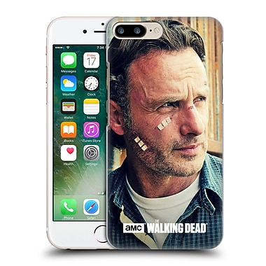 Official Amc The Walking Dead Rick Grimes Cuts And Bandages Hard Back Case For Apple Iphone 7 Plus