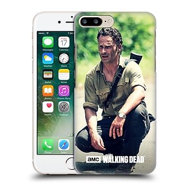 Official Amc The Walking Dead Rick Grimes Squat Hard Back Case For Apple Iphone 7 Plus