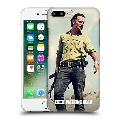 Official Amc The Walking Dead Rick Grimes Stance Hard Back Case For Apple Iphone 7 Plus