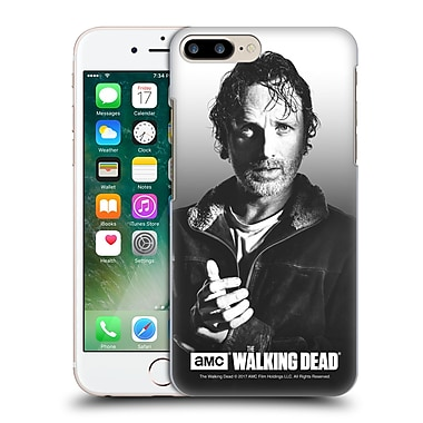 Official Amc The Walking Dead Filtered Portraits Rick Hard Back Case For Apple Iphone 7 Plus