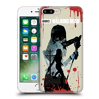 Official Amc The Walking Dead Silhouettes Michonne Hard Back Case For Apple Iphone 7 Plus