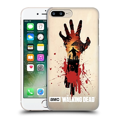 Official Amc The Walking Dead Silhouettes Walker Hand Hard Back Case For Apple Iphone 7 Plus