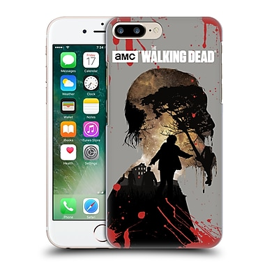Official Amc The Walking Dead Silhouettes Walker Hard Back Case For Apple Iphone 7 Plus