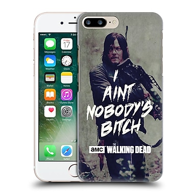 Official Amc The Walking Dead Typography Daryl Hard Back Case For Apple Iphone 7 Plus