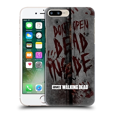 Official Amc The Walking Dead Typography Dead Inside Hard Back Case For Apple Iphone 7 Plus