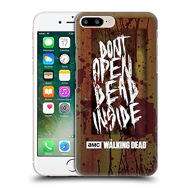 Official Amc The Walking Dead Typography Do Not Open Hard Back Case For Apple Iphone 7 Plus