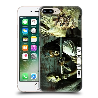 Official Amc The Walking Dead Walker Character Michonne Hard Back Case For Apple Iphone 7 Plus