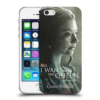 Official Hbo Game Of Thrones Character Portraits Margaery Tyrell Soft Gel Case For Apple Iphone 5 / 5S / Se