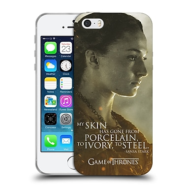 Official Hbo Game Of Thrones Character Portraits Sansa Stark Soft Gel Case For Apple Iphone 5 / 5S / Se