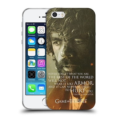 Official Hbo Game Of Thrones Character Portraits Tyrion Lannister Soft Gel Case For Apple Iphone 5 / 5S / Se