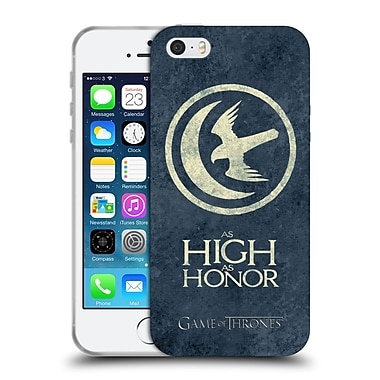 Official Hbo Game Of Thrones Dark Distressed Sigils Arryn Soft Gel Case For Apple Iphone 5 / 5S / Se