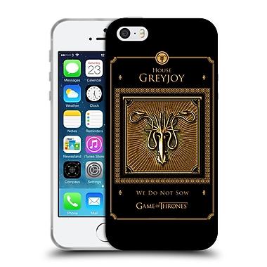 Official Hbo Game Of Thrones Golden Sigils Greyjoy Border Soft Gel Case For Apple Iphone 5 / 5S / Se
