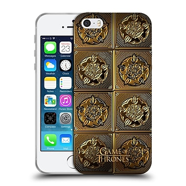 Official Hbo Game Of Thrones Golden Sigils Tyrell Soft Gel Case For Apple Iphone 5 / 5S / Se