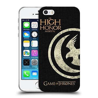 Official Hbo Game Of Thrones House Mottos Arryn Soft Gel Case For Apple Iphone 5 / 5S / Se