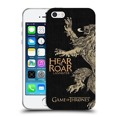 Official Hbo Game Of Thrones House Mottos Lannister Soft Gel Case For Apple Iphone 5 / 5S / Se