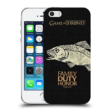 Official Hbo Game Of Thrones House Mottos Tully Soft Gel Case For Apple Iphone 5 / 5S / Se
