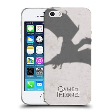 Official Hbo Game Of Thrones Key Art Dragon Soft Gel Case For Apple Iphone 5 / 5S / Se