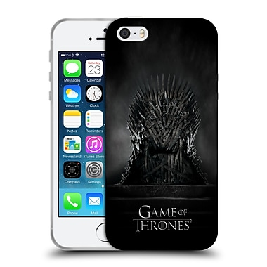 Official Hbo Game Of Thrones Key Art Iron Throne Soft Gel Case For Apple Iphone 5 / 5S / Se