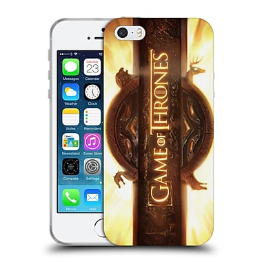 Official Hbo Game Of Thrones Key Art Opening Sequence Soft Gel Case For Apple Iphone 5 / 5S / Se