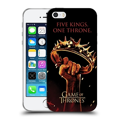 Official Hbo Game Of Thrones Key Art One Throne Soft Gel Case For Apple Iphone 5 / 5S / Se