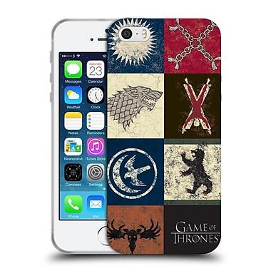 Official Hbo Game Of Thrones Battle Of The Bastards House Sigils Soft Gel Case For Apple Iphone 5 / 5S / Se