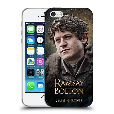 Official Hbo Game Of Thrones Battle Of The Bastards Ramsay Soft Gel Case For Apple Iphone 5 / 5S / Se